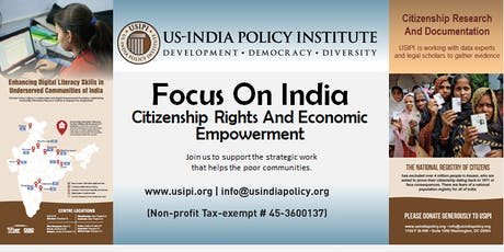Focus on India: Citizenship Rights And Economic Empowerment tickets