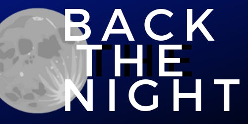 BACK THE NIGHT by Melinda Lopez - It's On Us at UCSD