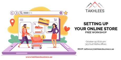 FREE WORKSHOP: Setting-up your Online Store tickets