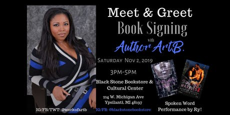 Meet & Greet Book Signing w/ Author ArtB. tickets