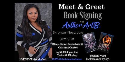 Meet & Greet Book Signing w/ Author ArtB.