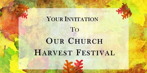 THE CROSS CHURCH FALL HARVEST FESTIVAL