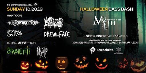 The Drip Presents Halloween Bass Bash at Myth Nightclub | Sunday 10.20.19