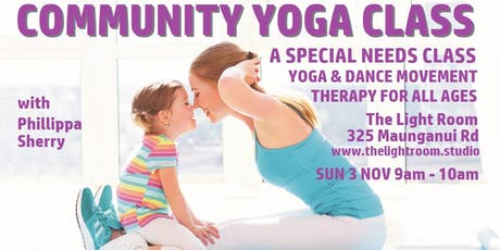 Community Yoga Class - Special Needs with Phillippa Sherry - Sun3Nov tickets