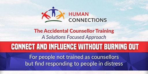 Accidental Counsellor Training Melbourne April  2020