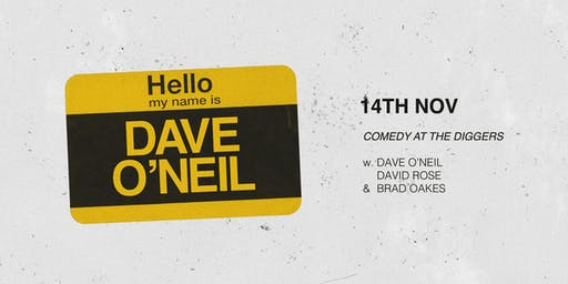 Hello, My Name Is — DAVE O'NEIL