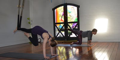 Thursday am 6 week Intro to Aerial Yoga Course
