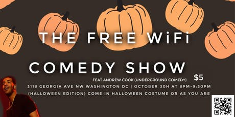 Free Wifi Comedy Featuring Andrew Cook (Underground Comedy) tickets
