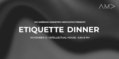 UW AMA Etiquette Dinner 2019