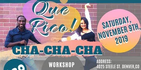 QUE RICO! CHA-CHA-CHA (November) tickets