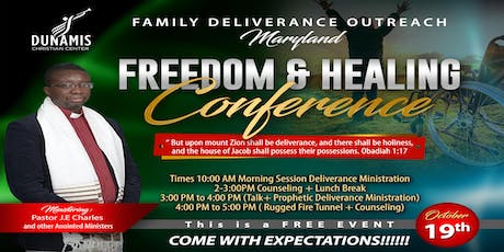 FAMILY DELIVERANCE OUTREACH MARYLAND tickets