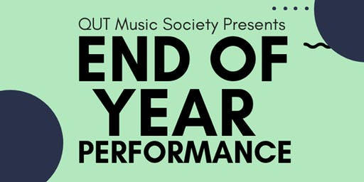 QUT Music Society End of Year Performance