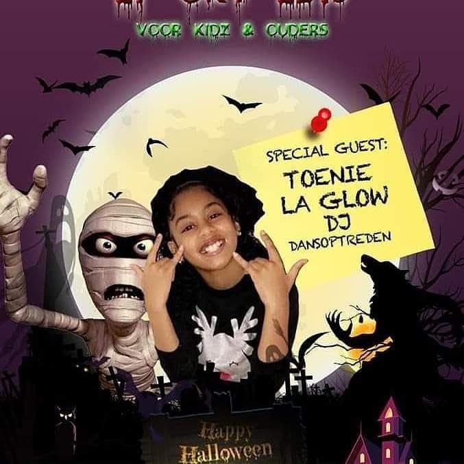 Halloween Party voor kidz en ouders.