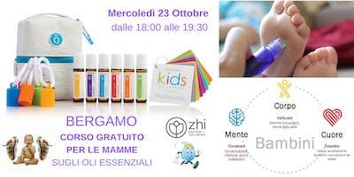 Bergamo corso gratuito per le MAMME sugli Oli Essenziali dōTERRA
