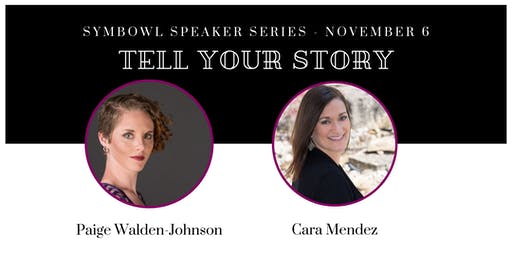 """Tell Your Story"" Speaker Series - Nov 6th"