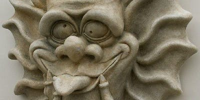 Sculpt a Gargoyle Face! Adults and Children