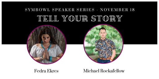 """Tell Your Story"" Speaker Series - Nov 18th"