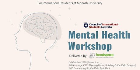 Mental Health Workshop - Caulfield tickets