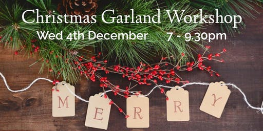 Christmas Garland Workshop