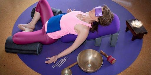 Wed 7:30pm Restorative Yoga $25