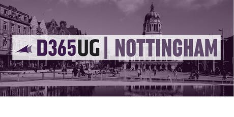 D365UG/CRMUG Nottingham - November 2019 tickets