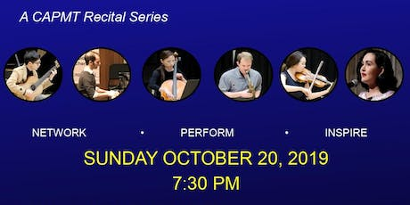 Young Professionals on Stage-Classical Music Recital presented by CAPMT tickets