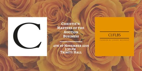 Christie's: Masters of the Auction Business tickets