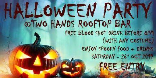 Halloween Party Event - Two Hands Bar - Abbotsford, Victoria