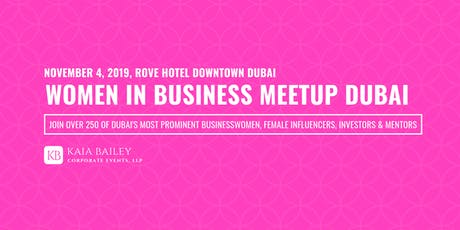 Women in Business Meetup Dubai 2019 tickets