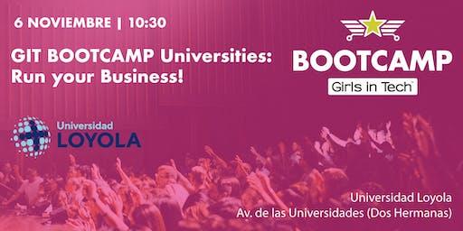 GIT BOOTCAMP Universities: Run your Business!