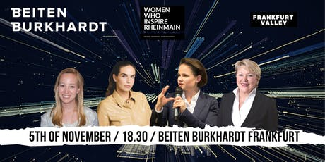 Women Who Inspire Rhein-Main at BEITEN BURKHARDT Law Firm tickets