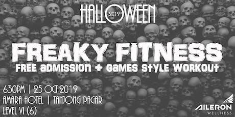 Halloween Freaky Fitness  tickets
