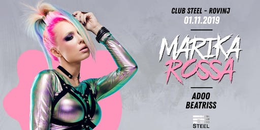 Techno Halloween w/ Marika Rossa at Steel Rovinj #SafeTheDate 01.11.2019