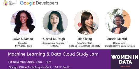 Machine Learning and Data Cloud Study Jam at Google Tickets