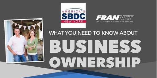 What You Need to Know About Business Ownership (Onondaga SBDC)