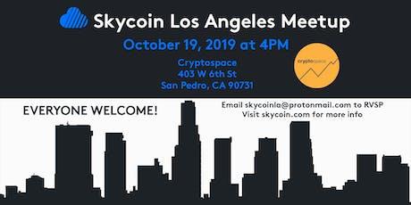 Skycoin Los Angeles Meetup October 19, 2019 tickets
