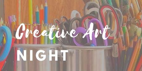 Creative Art Night tickets