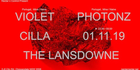 Nectar X Control present Violet and Photonz (Portugal) + Cilla tickets