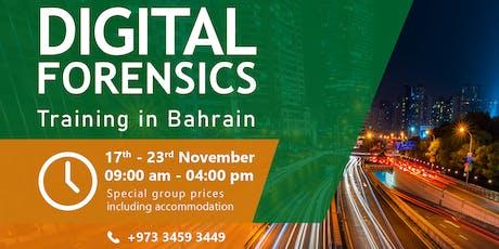 Digital Forensics Training tickets