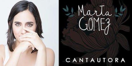 Marta Gómez 'Cantautora' en Madrid entradas