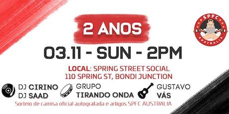 FESTA DE 2 ANOS SPFC AUSTRALIA tickets