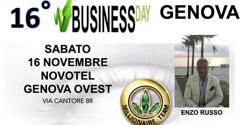 BUSINESS DAY GENOVA