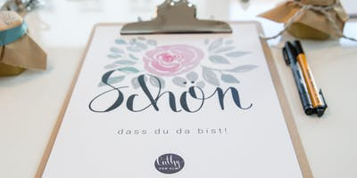 Handlettering-Workshop: After-Work-Event
