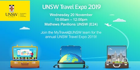 UNSW  Travel Expo 2019 tickets