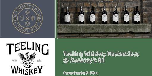 Teeling Whiskey Masterclass @ Sweeney's D3