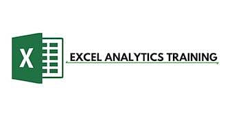 Excel Analytics 3 Days Virtual Live Training in Seoul
