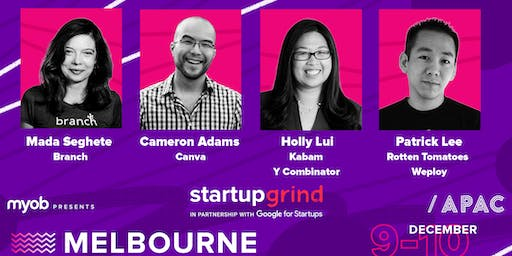 The Startup Grind APAC Conference presented by MYOB 2019
