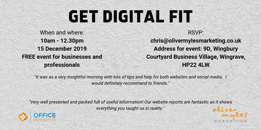 Get Digital Fit in December