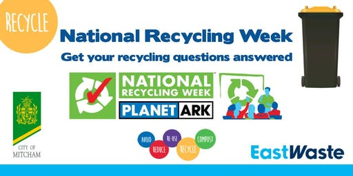 Is it really being recycled? National Recycling Week information session.