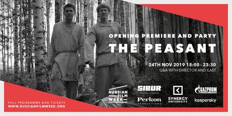 Russian Film Week 2019 Opening Night and Party tickets